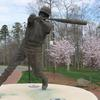 Baseball Athlete by Richard Hallier  UNCC campus