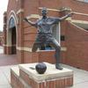 Women's Soccer Athlete by Richard Hallier UNCC campus