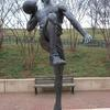 Men's Basketball Athlete by Richard Hallier  UNCC campus