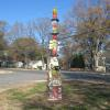 Sedgefield Totem by Paula Smith Marsh Road
