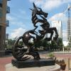 El Caballo by Jesus Sanchez - Church St. and Martin Luther King Blvd.