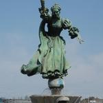 Queen Charlotte by Raymond Kaskey  Charlotte Douglas International Airport