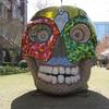 Sculpture by Niki de Saint Phalle  The Green